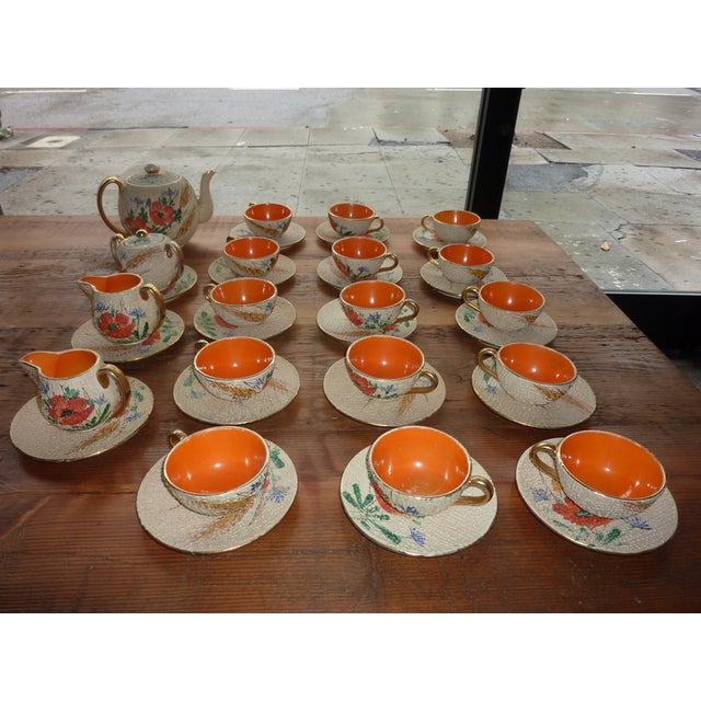 Italian Mid-Century Tea and Coffee Set - 38 Pcs - Image 2 of 4