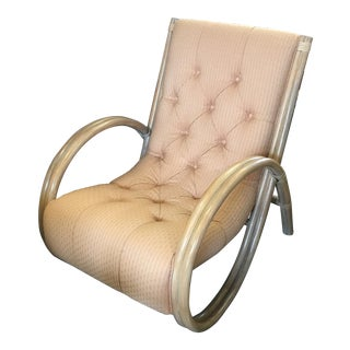 Cream Tufted Eclipse Chair