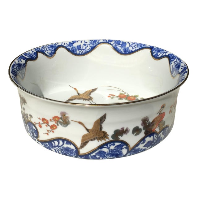 Chinoiserie Gold Leaf Bowl - Image 1 of 5
