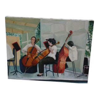 """""""The Orchestra"""" Acrylic Painting"""