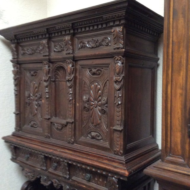 Mediterranean Style Antique Elements Cabinet - Image 6 of 11