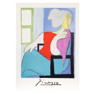 Pablo Picasso - Femme Assise Pres d'Une Fenetre