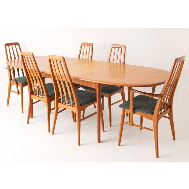 Koefoeds Hornslet Modern Teak Dining Set - Image 3 of 11