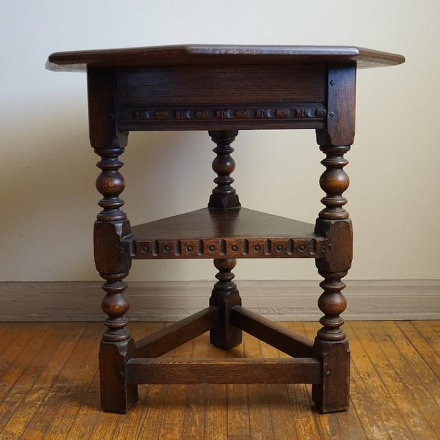 Image of 19th Century Jacobean Occasional Table
