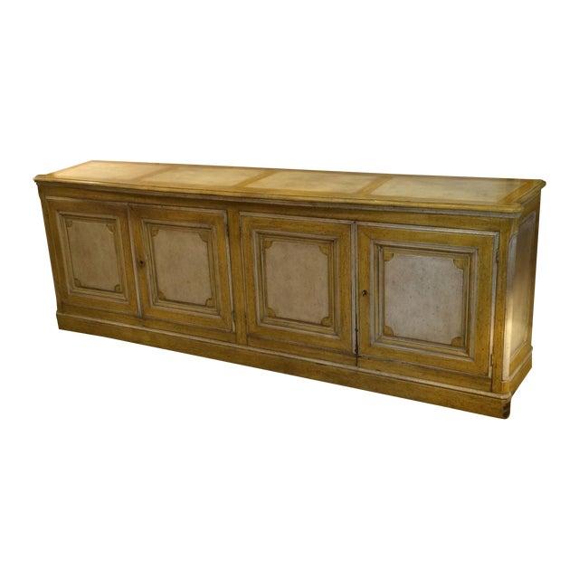 Yellow Baker French Style Sideboard Chairish
