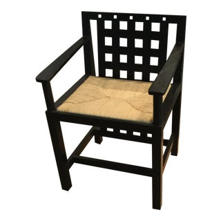 Charles Renni Mackintosh Candida Black Ashwood Cottage Chair