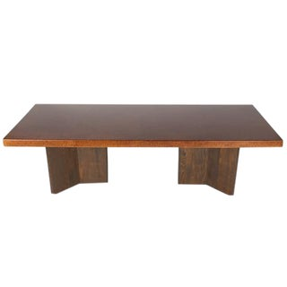 LARGE CORK-TOP DINING TABLE BY PAUL FRANKL, CIRCA 1949