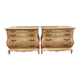 Hand-Painted Gustavian Commodes - A Pair