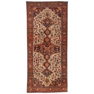 Antique Persian Lori Carpet
