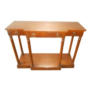 Fine Arts Furniture Traditional Walnut Console