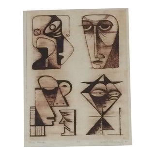 Robert McChesney Abstract Print