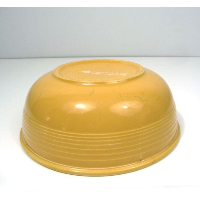 Rare Promotional Fiesta Yellow Salad Bowl - Image 5 of 7