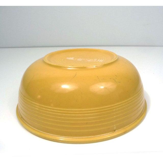 Image of Rare Promotional Fiesta Yellow Salad Bowl