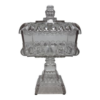 Square Crystal Candy Dish