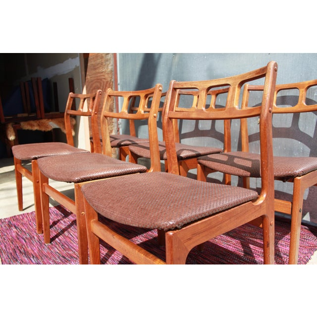 Image of 1960s D-Scan Teak Dining Chairs