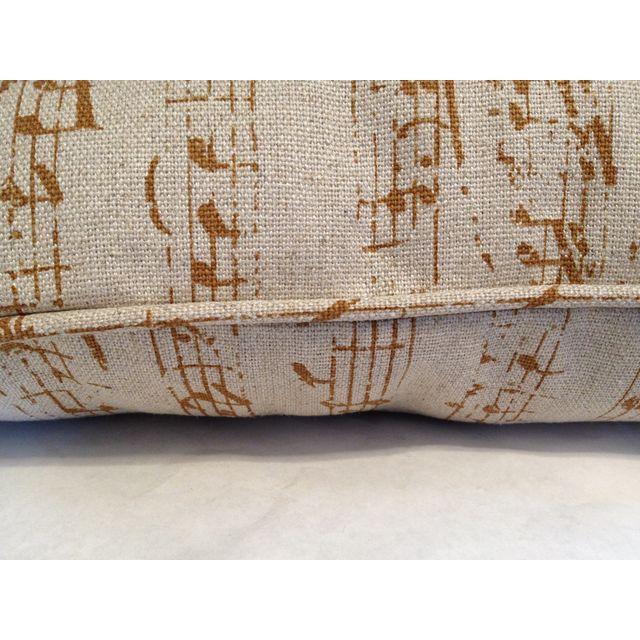 Custom Music Clef Pillow - Image 5 of 5