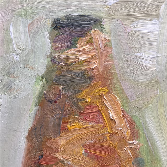 Vintage Abstract Still Life Painting - Image 9 of 11