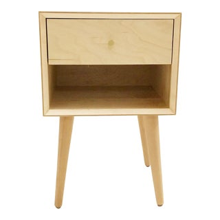 Maple Single Drawer Nightstands