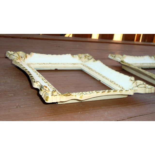 Vintage French Rococo Gilt Picture Frames - 2 - Image 6 of 7