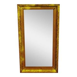Gold Gilt Gesso Framed Wall Mirror