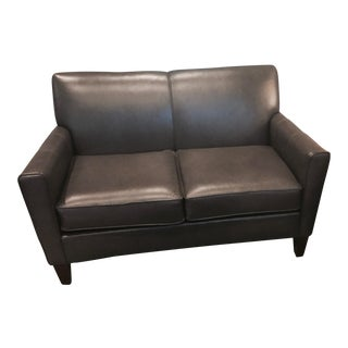 England Furniture Company All Leather Lynette Loveseat