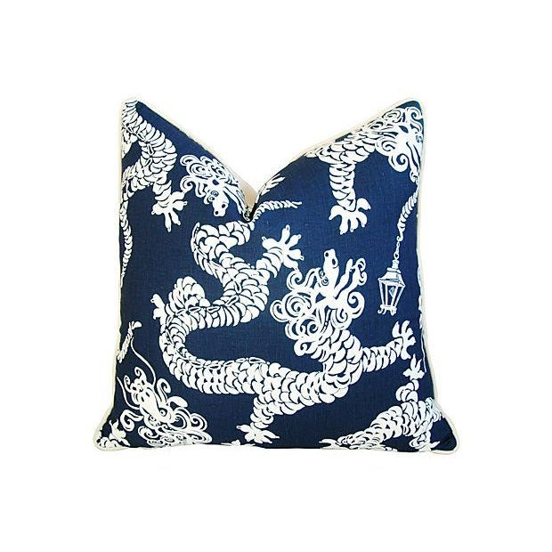 Lee Jofa Lilly Pulitzer Blue Pillows - A Pair - Image 2 of 7