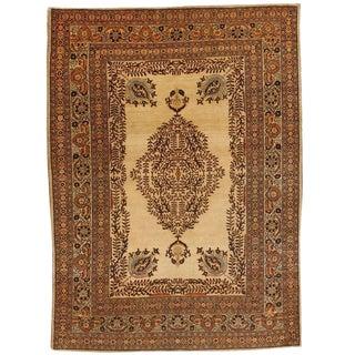 Exceptional Antique 19th Century Persian Tabriz Rug