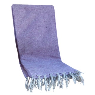 Mexican BohoYoga/ Beach Blanket in Lavender