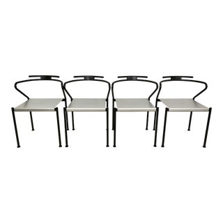 Vintage Cidue Italy Modern Dining Chairs - Set of 4
