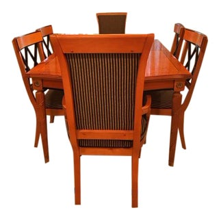 Thomasville Grand Classics Dining Table & Chairs Biedermeier Style
