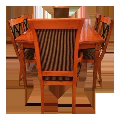 Thomasville Grand Classics Dining Table U0026 Chairs Biedermeier Style