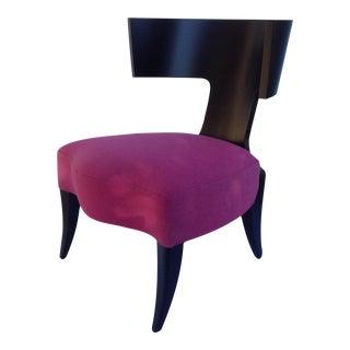 "Pink Donghia ""Klismos"" Chair"