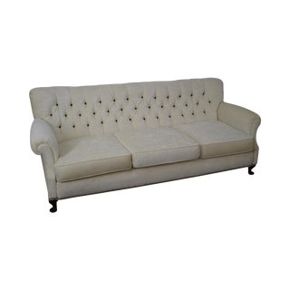 1940s Tufted Upholstered Sofa
