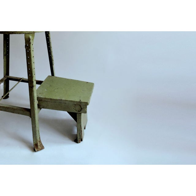 Industrial Sage Green Step Stool - Image 6 of 6