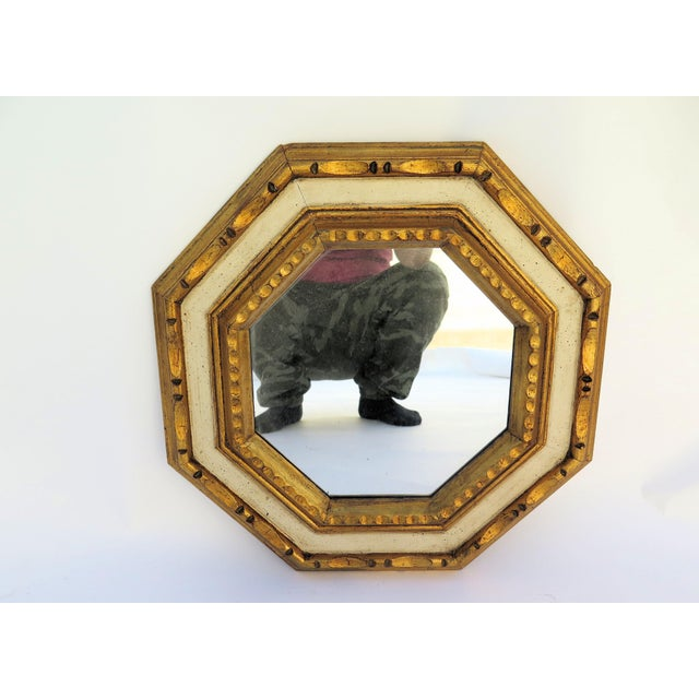 Vintage 1960's Gold Leaf Mirror - Image 2 of 4