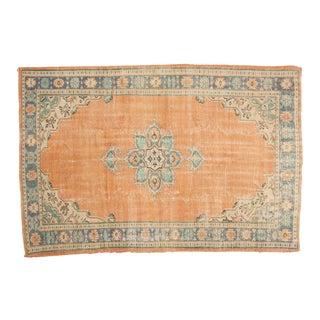 "Vintage Oushak Carpet - 5'8"" x 8'5"""