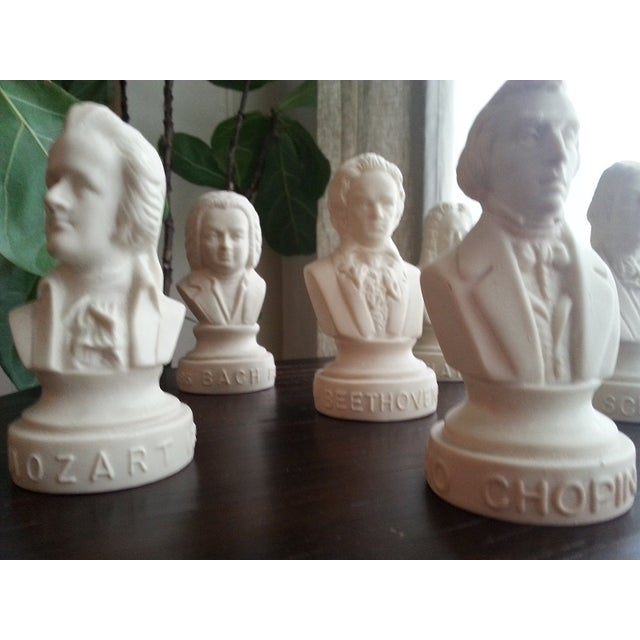 Famous Composer Busts - Set of 6 - Image 8 of 9