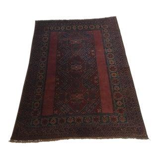 Hand-Made Persian Rug - 4′1″ × 5′11″