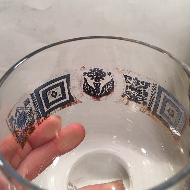 Vintage Culver Roly Poly Glasses - Set of 5 - Image 3 of 9