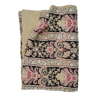 19th Century French Bed Quilt
