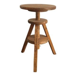 Vintage 3-Legged Wooden Milking Stool