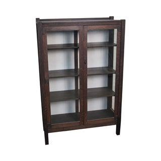 Stickley Quaint Antique Mission Oak China Cabinet