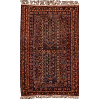 "Apadana - Vintage Persian Balouch Rug, 2'10"" x 4'10"""