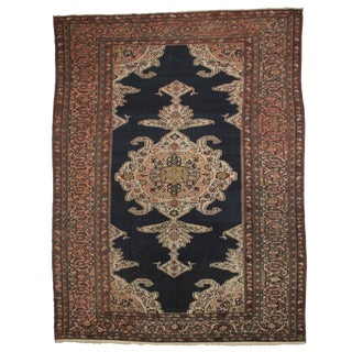 Persian Hand Knotted Wool Hamedan Rug- 11′8″ × 15′6″