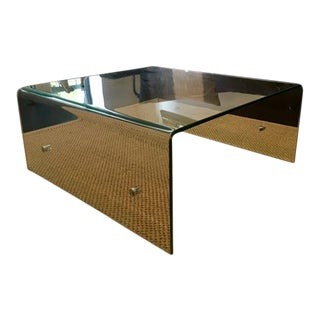 Christopher Knight Home Square Glass Coffee Table