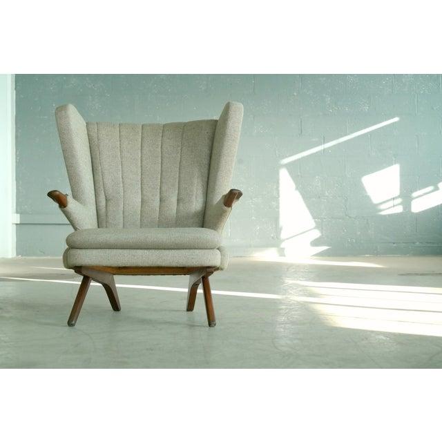 Sven Skipper 1960s Papa Bear Chair Model 91 in the Style of Hans Wegner - Image 4 of 11