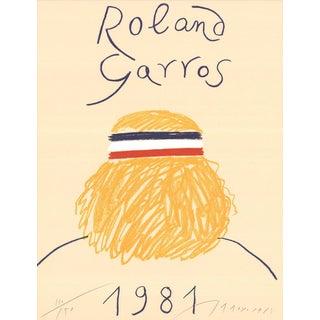 Eduardo Arroyo Roland Garros Signed Offset Lithograph