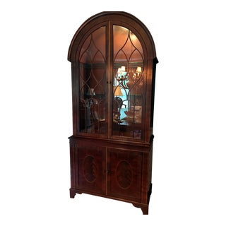 Baker Historic Charleston Collection Bonnet Top China Cabinet
