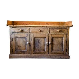English Pine Sideboard Dry Sink
