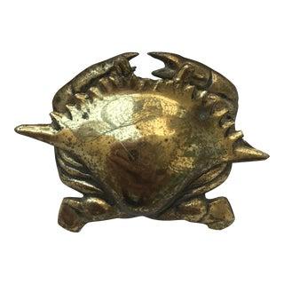Brass Crab Figurine